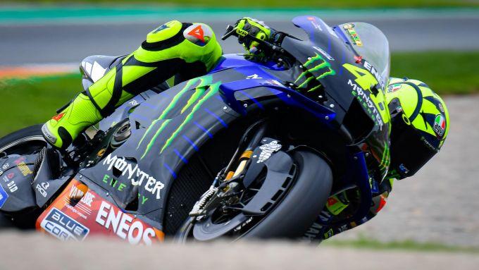 MotoGP Comunità Valenciana 2020, Cheste - Valentino Rossi (Yamaha)