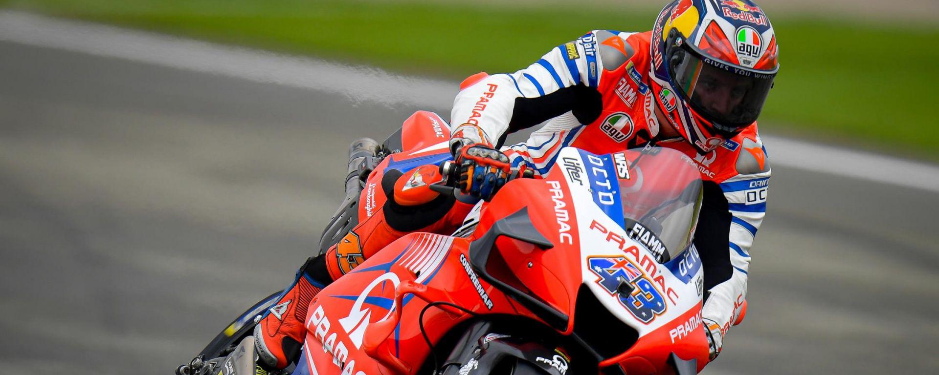 MotoGP Valencia 2020, FP2: la zampata di Miller, quattro Ducati nella top-6
