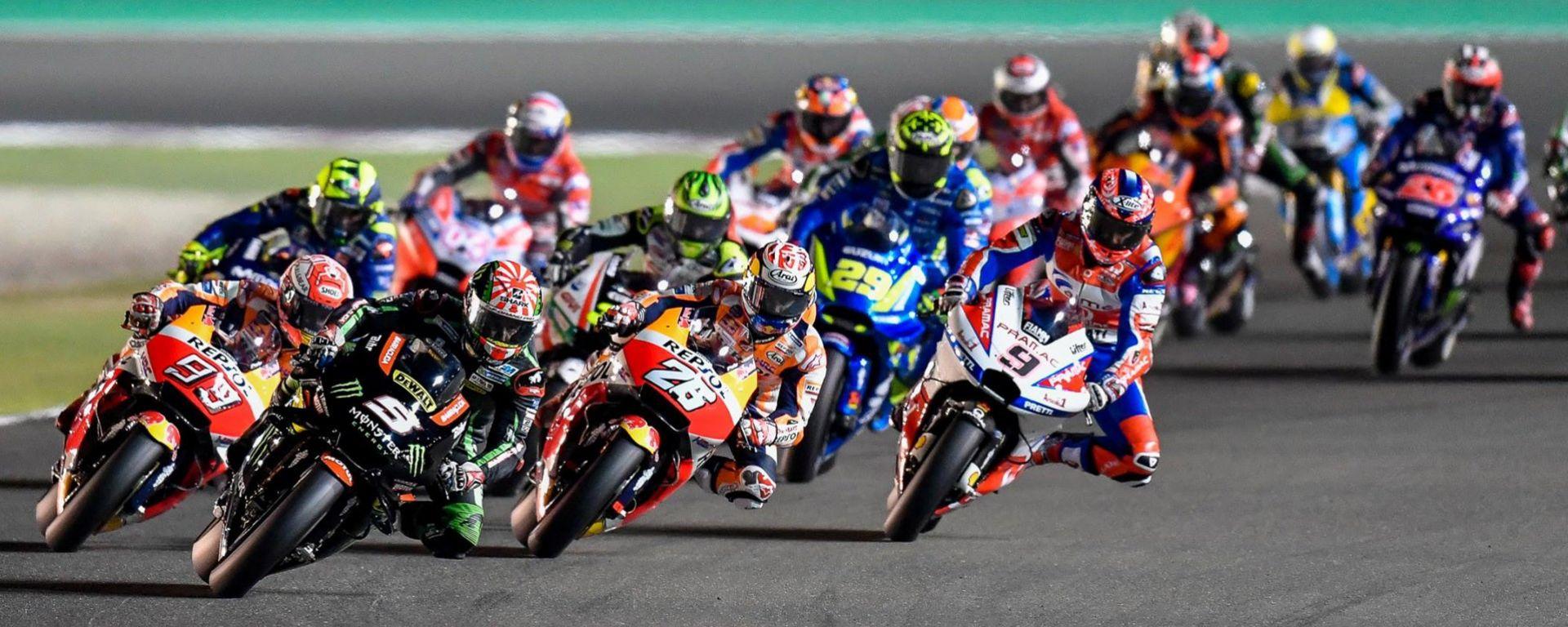 MotoGP, diramato il calendario provvisorio del Motomondiale 2019