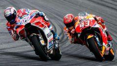 MotoGP, Dovizioso contro Marquez