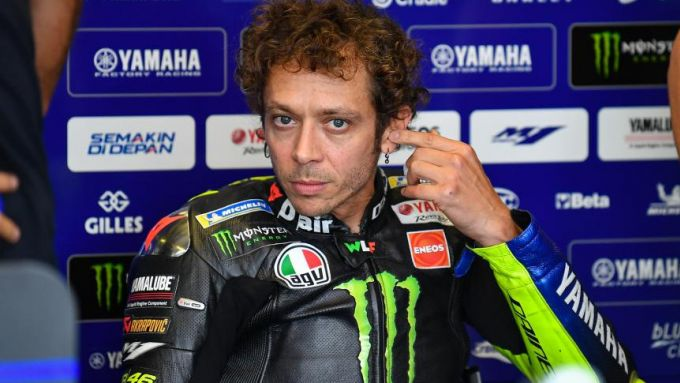 MotoGP Emilia Romagna 2020, Misano: Valentino Rossi (Yamaha)