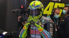 L'ultimo casco speciale di Valentino Rossi è per tutti i suoi tifosi