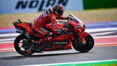 MotoGP Emilia Romagna 2021, Bagnaia in pole partendo dalla Q2!
