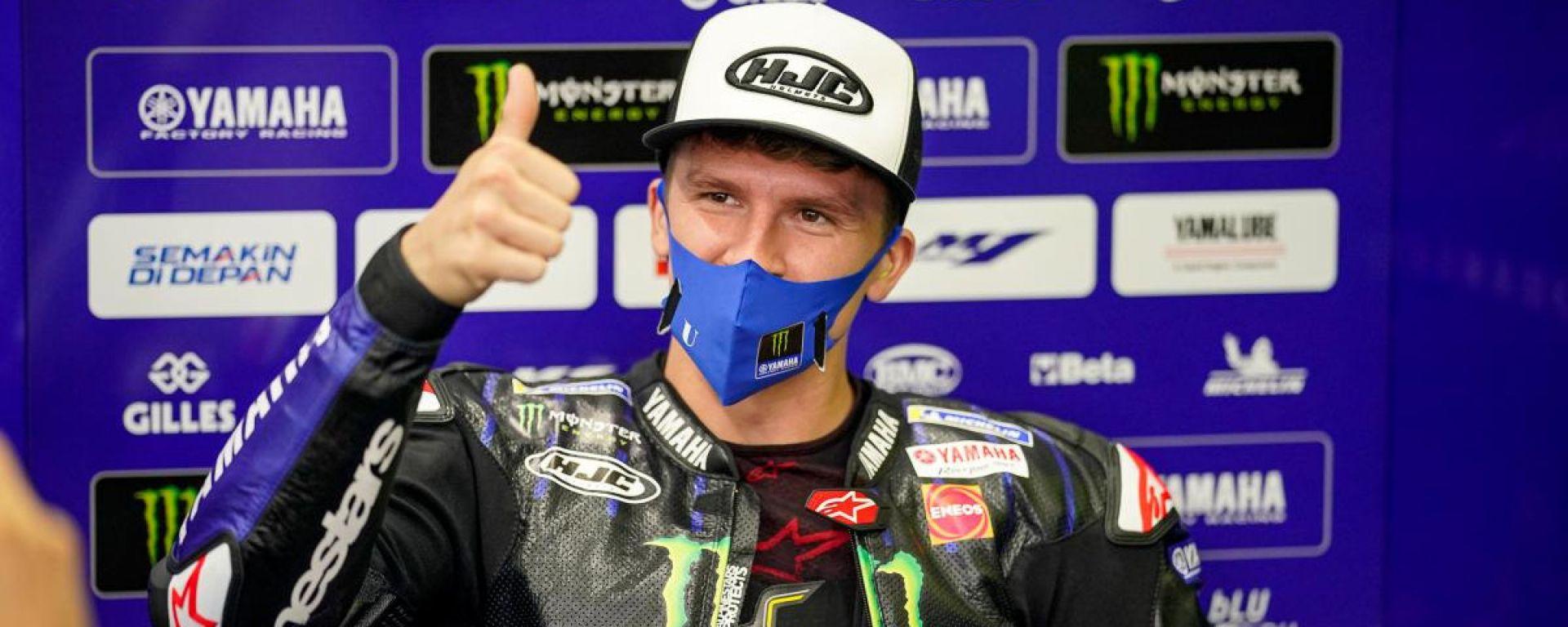 MotoGP Europa 2021, Valencia: Garrett Gerloff (Monster Energy Yamaha)