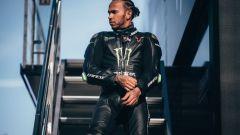 Scambio Rossi-Hamilton, Mercedes-Yamaha, il video onboard di Lewis Hamilton