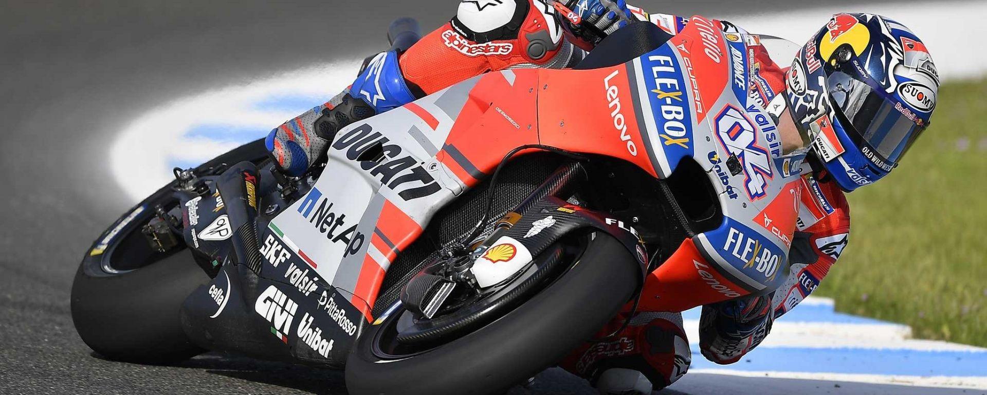 MotoGP Francia 2018: Andrea Dovizioso il più veloce del Venerdì