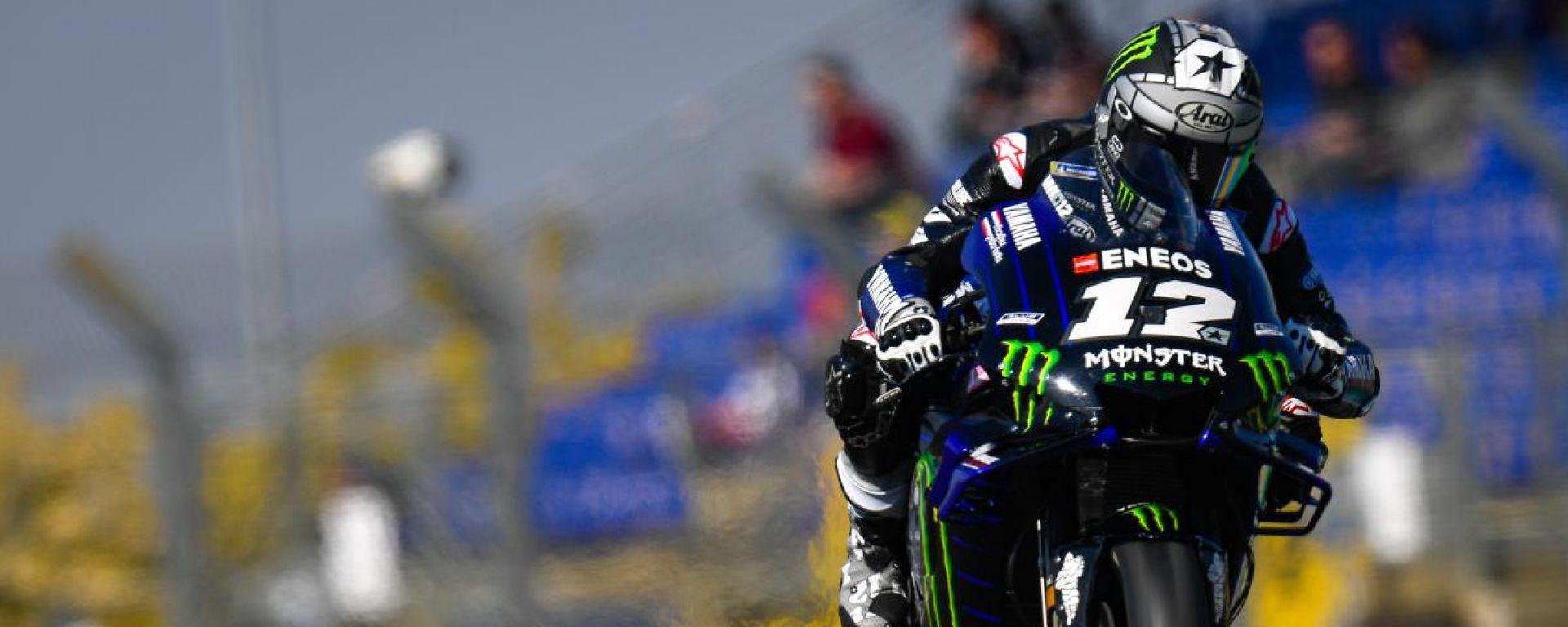 MotoGP Francia 2019, Maverick Vinales chiude le FP2 al comando della classifica