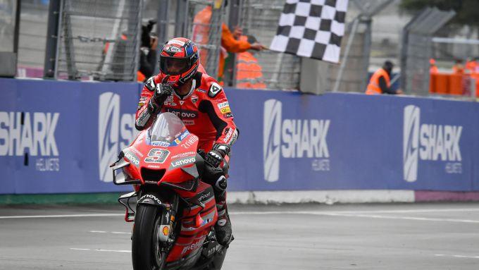 MotoGP Francia 2020, Le Mans: Danilo Petrucci (Ducati)