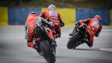 MotoGP Francia 2020, Le Mans: Petrucci, Dovizioso e Miller (Ducati)