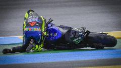 MotoGP Francia 2020, Le Mans: Valentino Rossi (Yamaha)