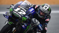 MotoGP Francia, FP3: scende la pioggia, primo Vinales - Immagine: 1