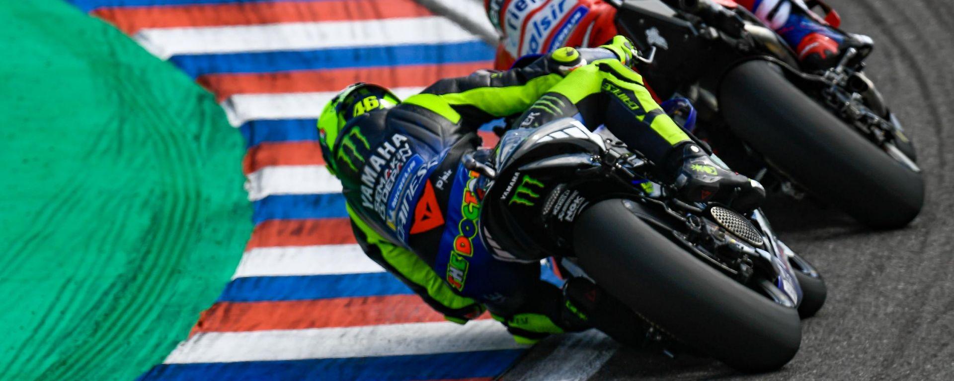 MotoGP Francia, Rossi e Dovizioso fiduciosi per Le Mans