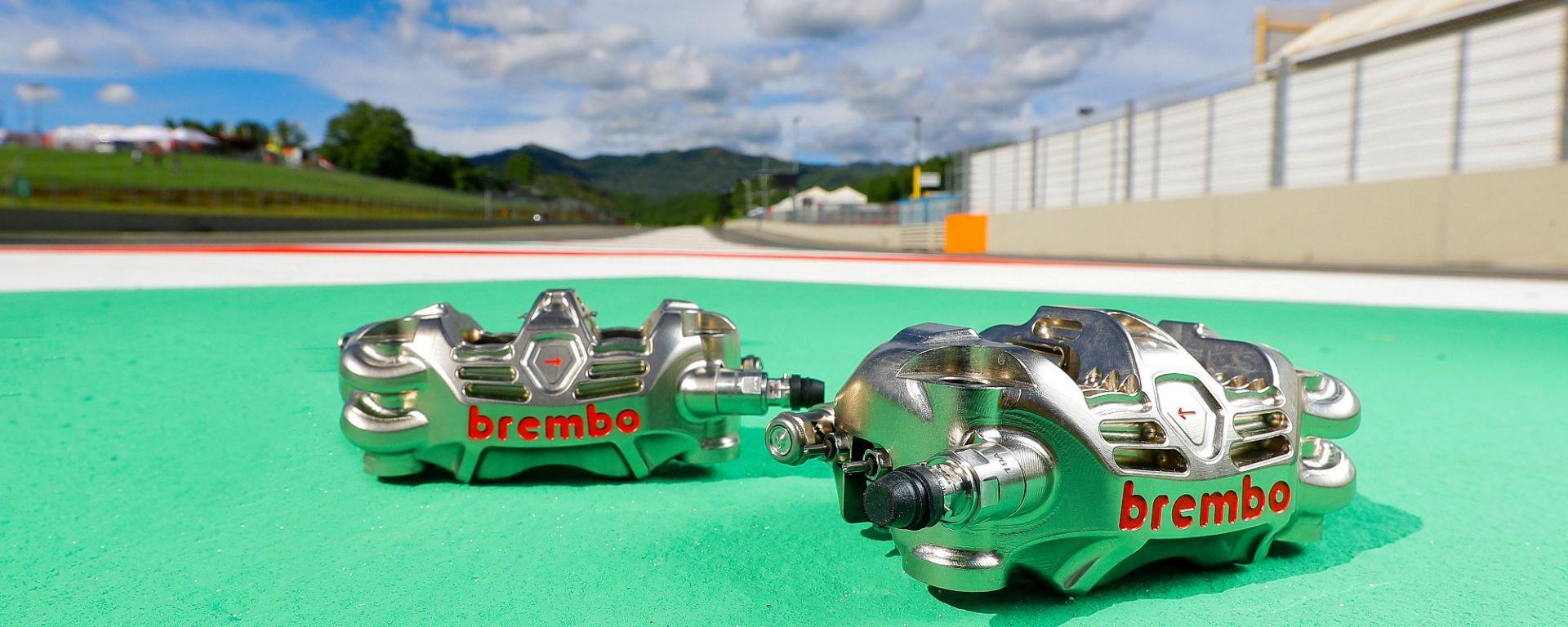 MotoGP, freni Brembo