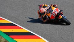 MotoGP Germania 2018, Sachsenring, Marc Marquez in azione
