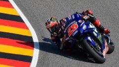 MotoGP Germania 2018, Sachsenring, Maverick Vinales in azione