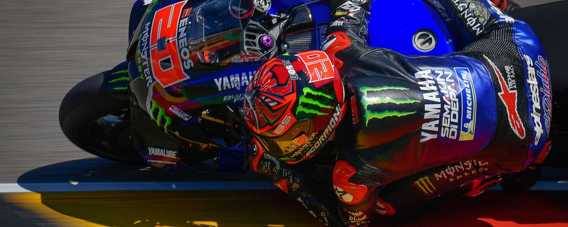 MotoGP Germania 2021, Sachsenring: Fabio Quartararo (Yamaha)