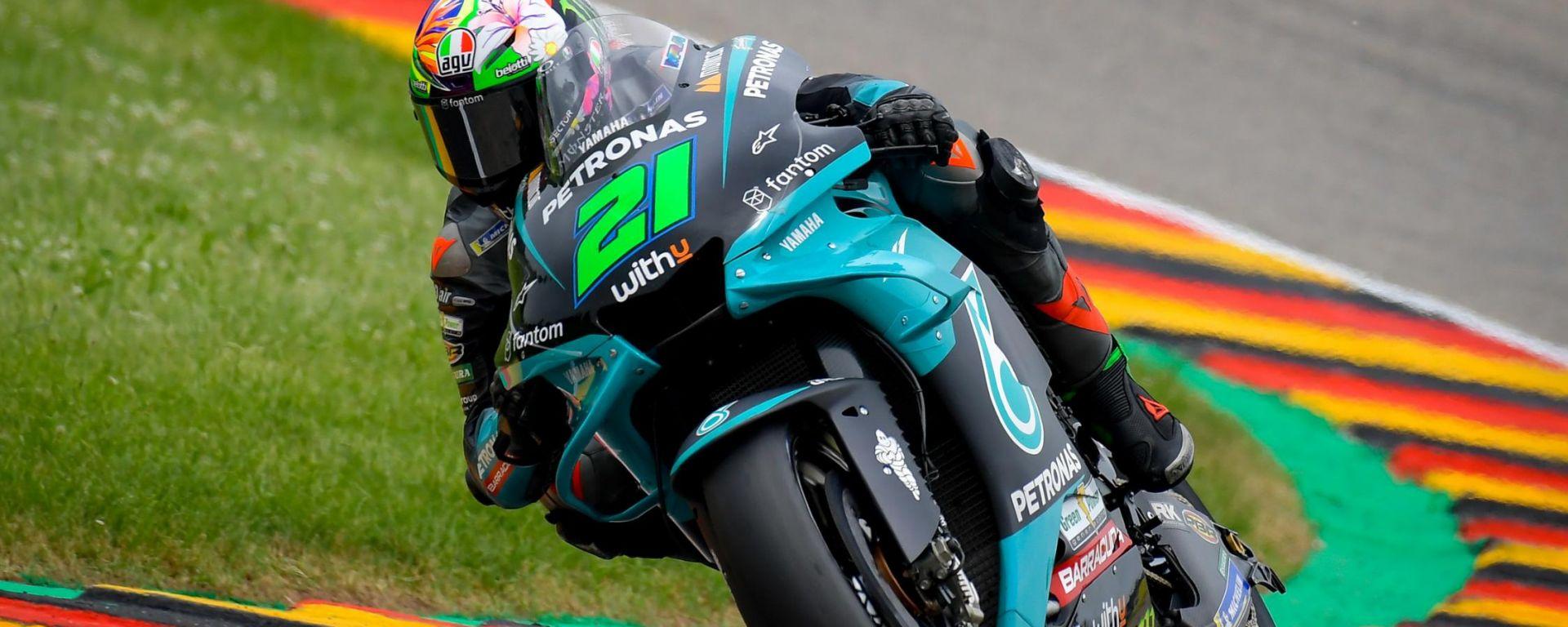 MotoGP Germania 2021, Sachsenring: Franco Morbidelli (Yamaha)