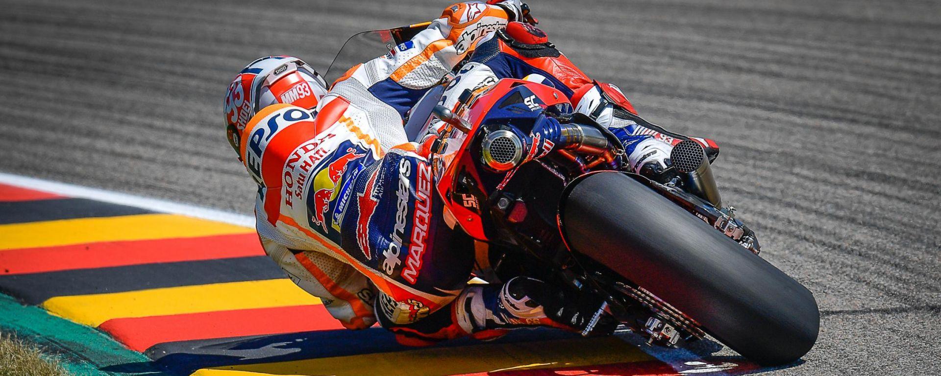 MotoGP Germania 2021, Sachsenring: Marc Marquez (Honda)