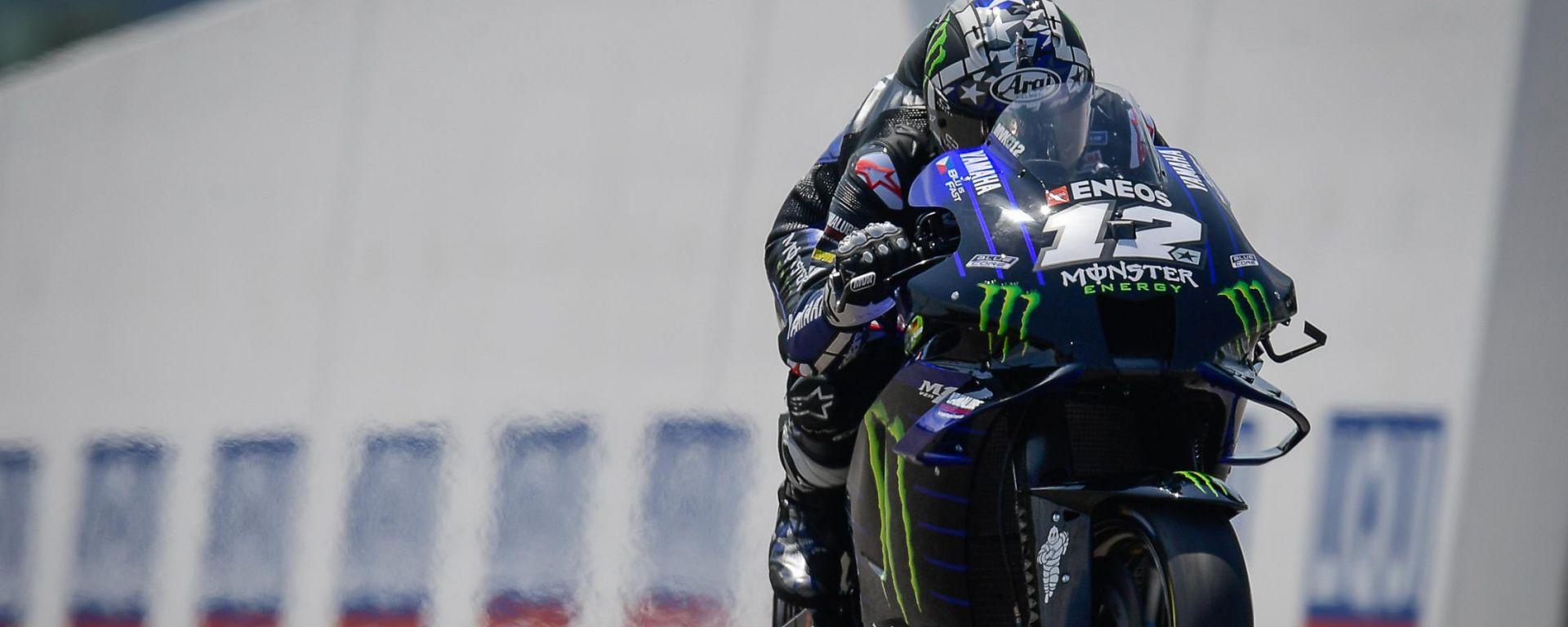 MotoGP Germania 2021, Sachsenring: Maverick Vinales (Yamaha)