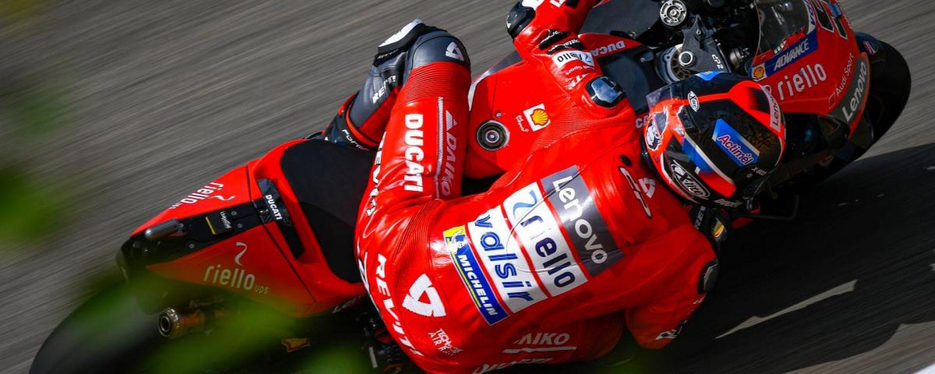 """MotoGP Germania, Dovizioso: """"Siamo sempre al limite"""""""