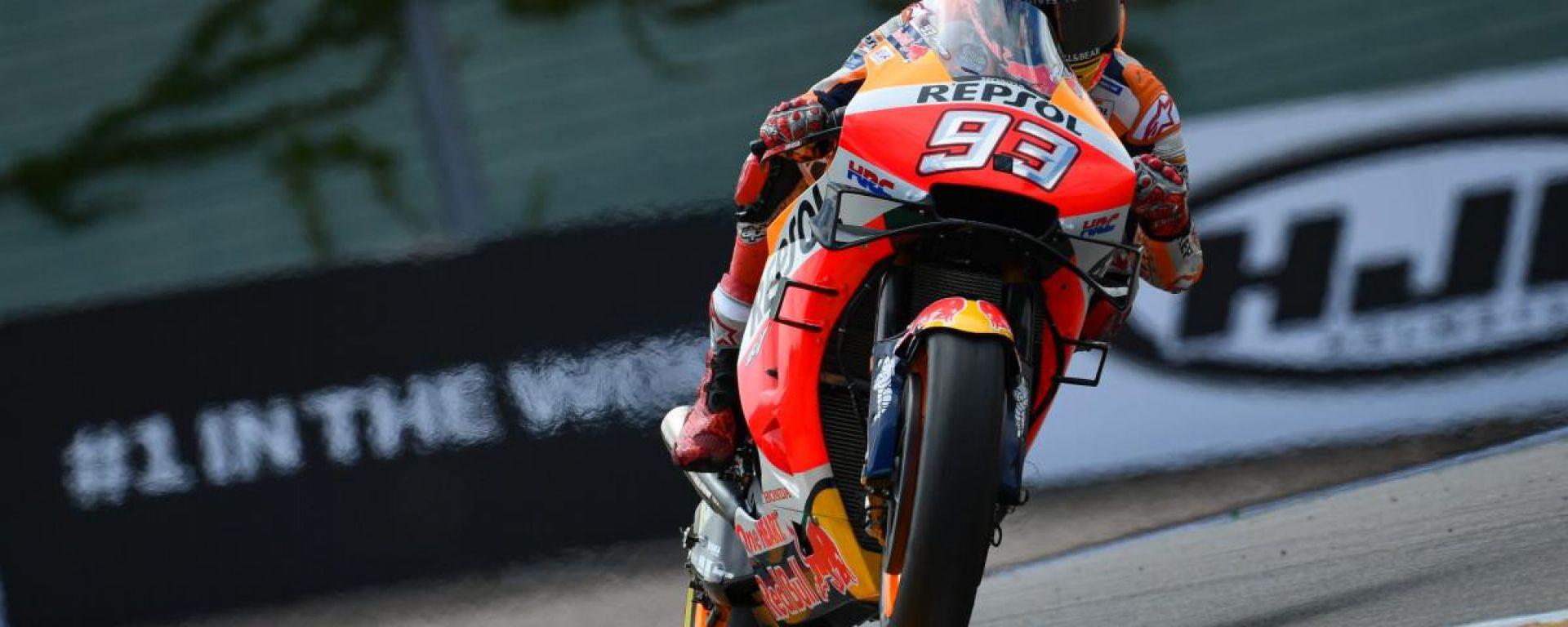 MotoGP Germania, Marquez domina al Sachsenring