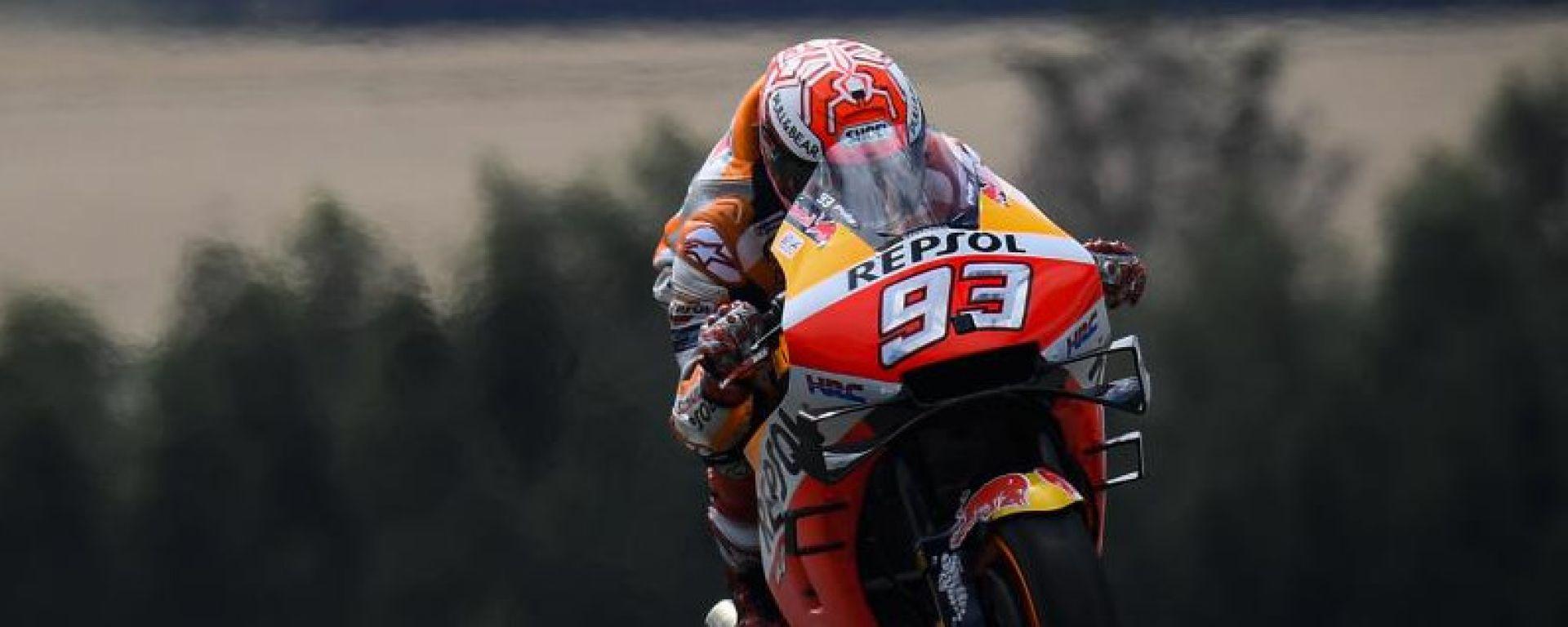 MotoGP Germania: Marquez in pole, è record della pista!