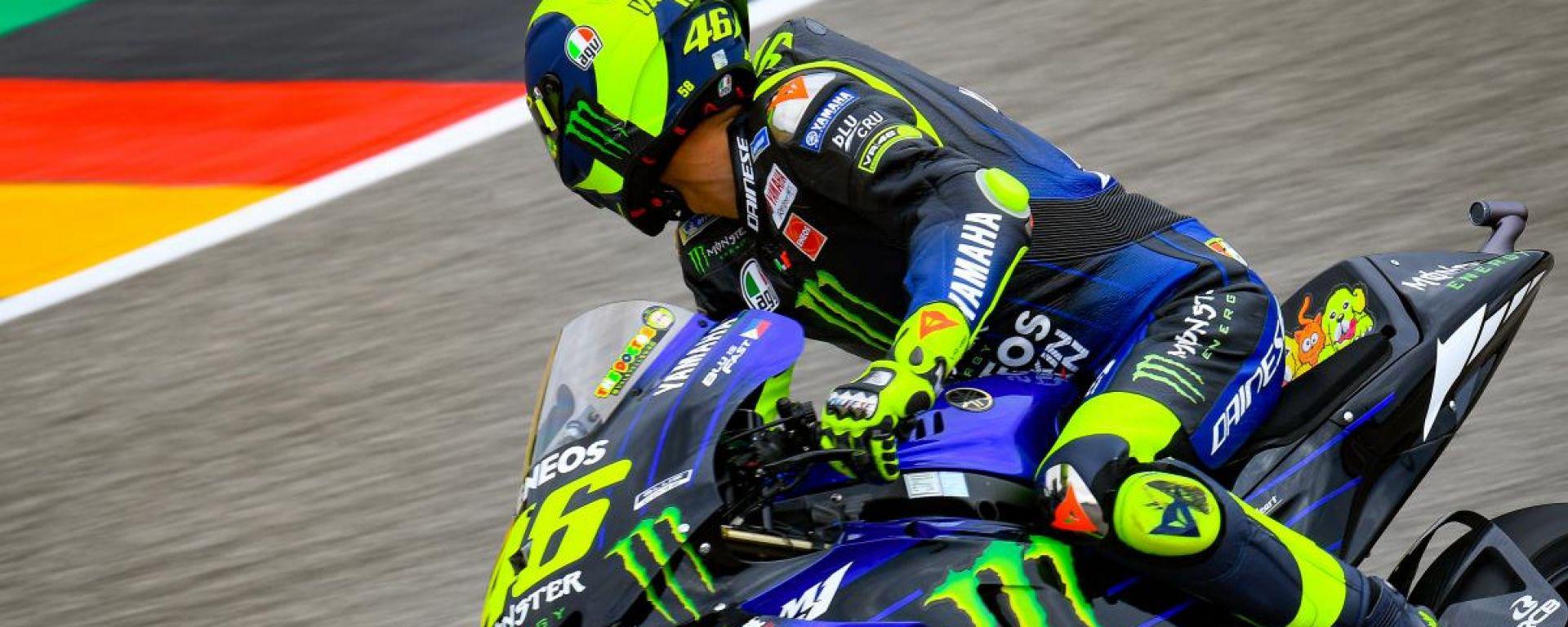"MotoGP Germania, Rossi 11°: ""Sono lento nel T4"""