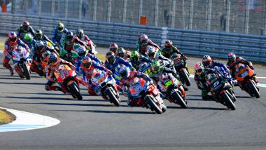 MotoGP Giappone 2018, Motegi: la partenza