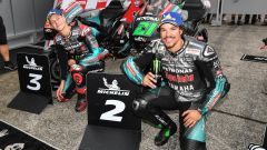 MotoGP Giappone 2019, Motegi: Franco Morbidelli e Fabio Quartararo (Yamaha)