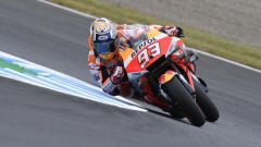 "MotoGP Giappone 2019, Motegi: Marc Marquez (Honda) ""impalla"" Jorge Lorenzo"