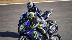 MotoGP, GP Andalusia 2020: Valentino Rossi e Maverick Vinales (Yamaha)