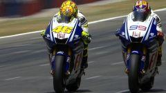 L'inesperto Lorenzo e il sorpasso di Rossi nel GP Catalunya 2009