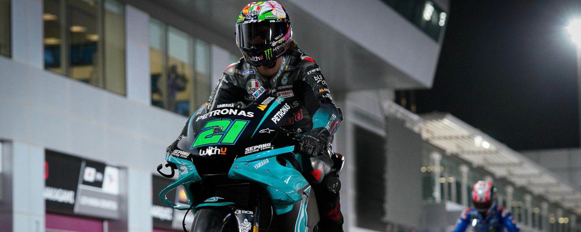 MotoGP, GP Doha 2021: Franco Morbidelli (Yamaha Petronas)
