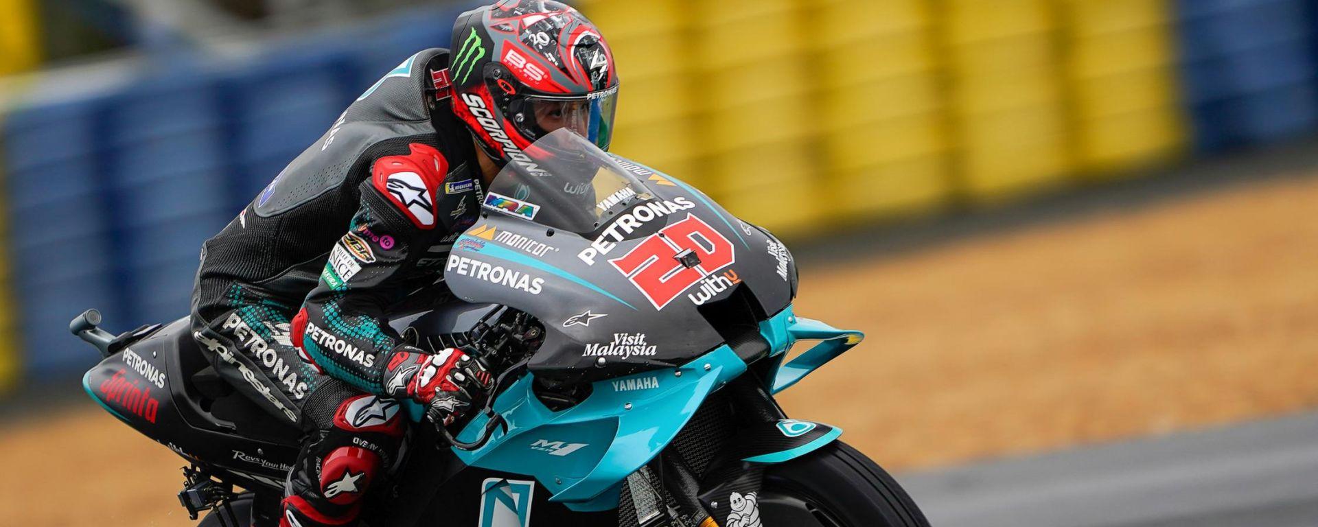 MotoGP, GP Francia 2020: Fabio Quartararo (Yamaha Petronas)