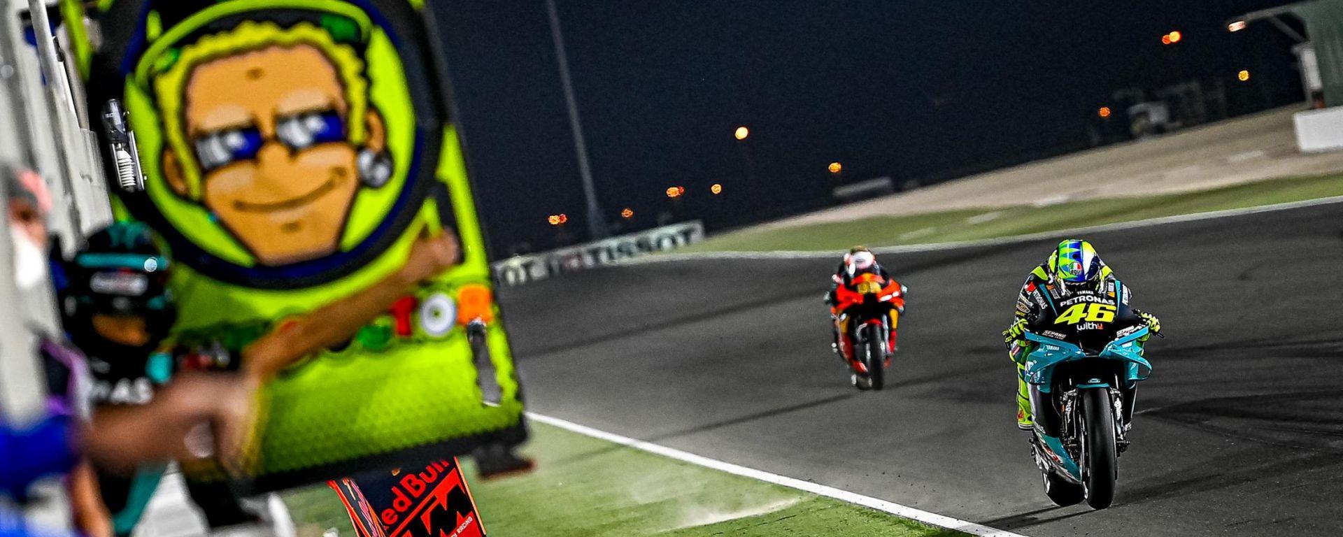 MotoGP, GP Losail 2021: Valentino Rossi (Yamaha Petronas)
