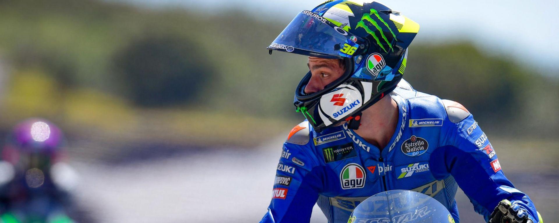 MotoGP, GP Portogallo 2021: Joan Mir (Suzuki)
