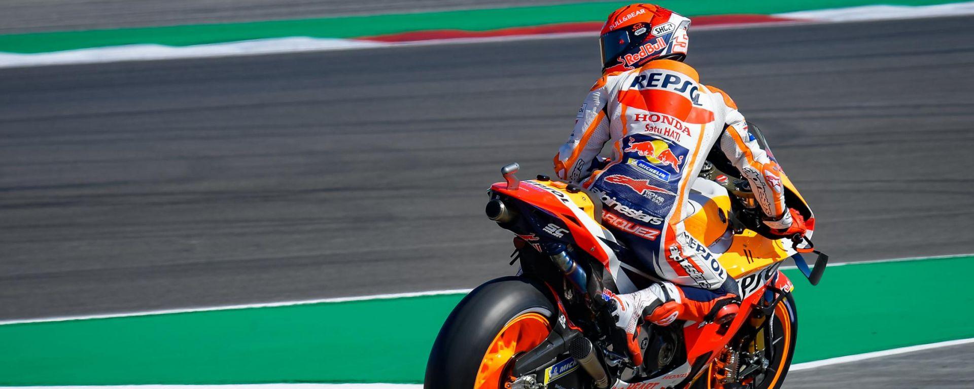 MotoGP, GP Portogallo 2021: Marc Marquez (Honda)