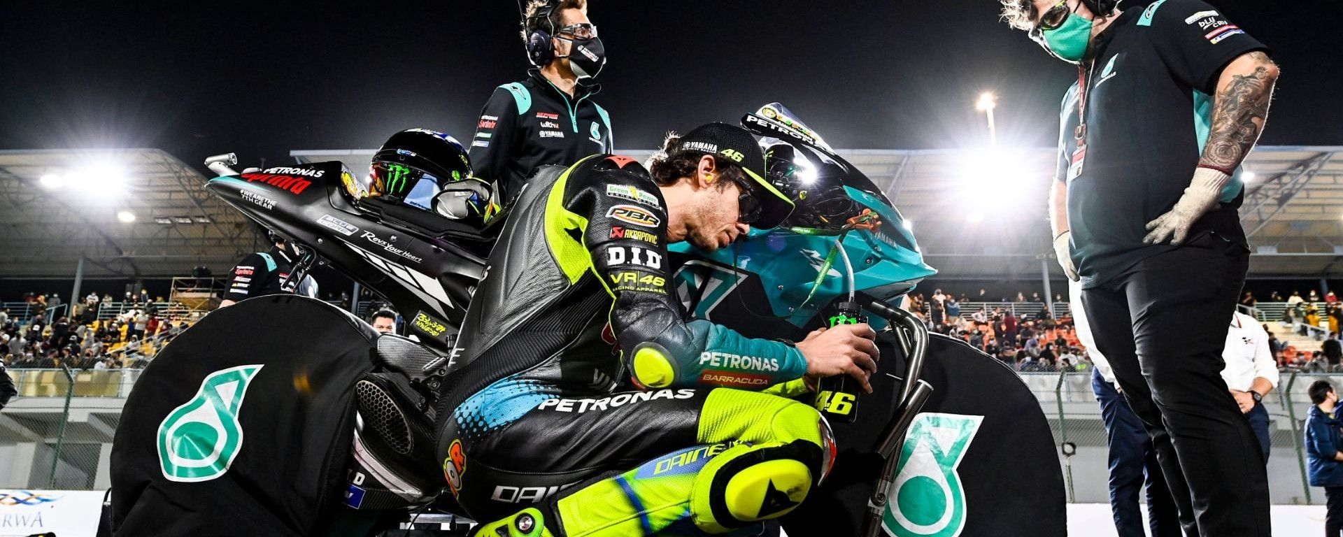 MotoGP, GP Qatar 2021: Valentino Rossi (Yamaha Petronas)