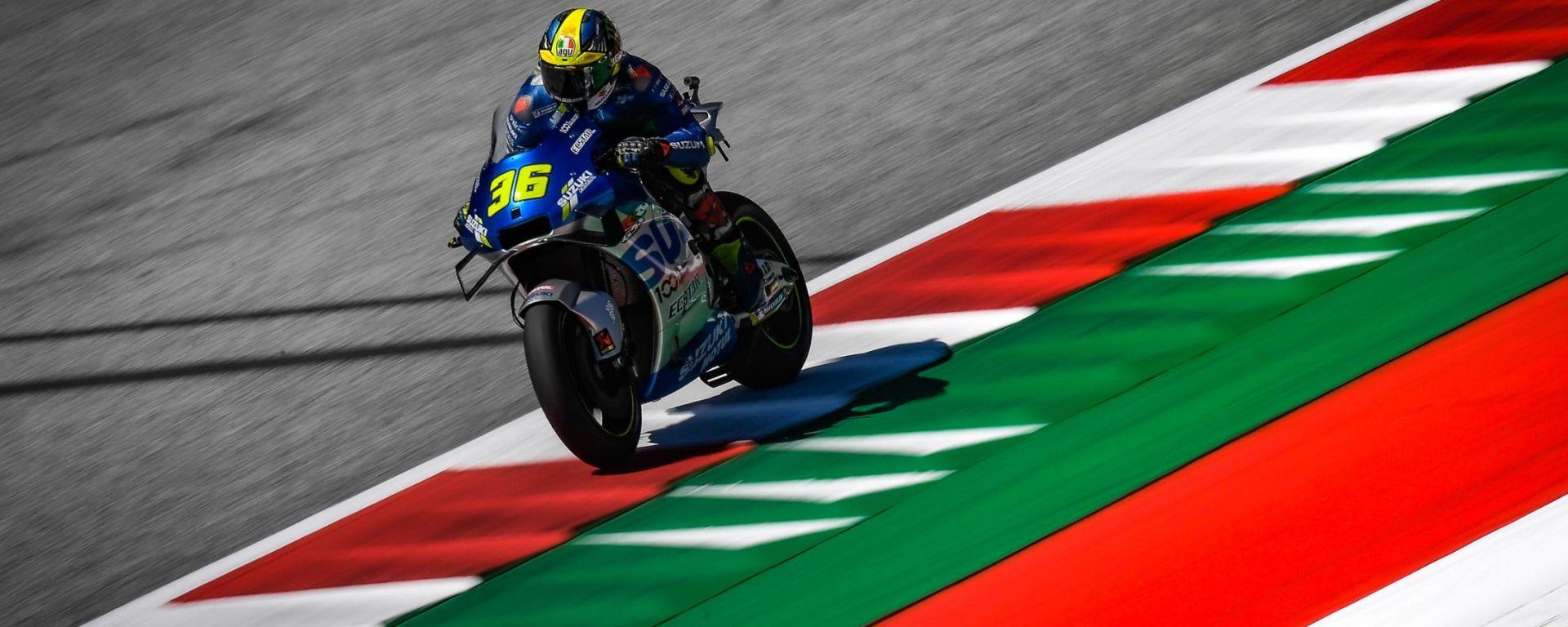 MotoGP, GP Stiria 2020: Joan Mir (Suzuki)