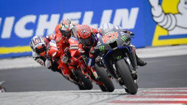 MotoGP, GP Stiria 2021: Fabio Quartararo precede le Ducati