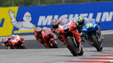 MotoGP, GP Stiria 2021: Jorge Martin guida il gruppo