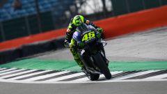 """MotoGP Silverstone, Rossi:""""Sapevo di non essere uscito"""""""