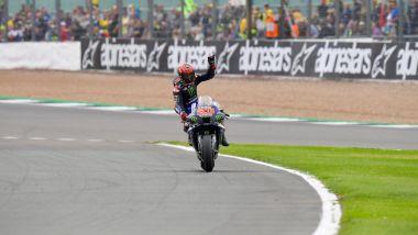 MotoGP Gran Bretagna 2021, Silverstone: Fabio Quartararo (Yamaha)