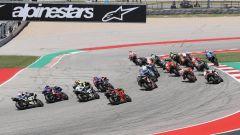 MotoGP Grand Prix of Americas 2019, la partenza