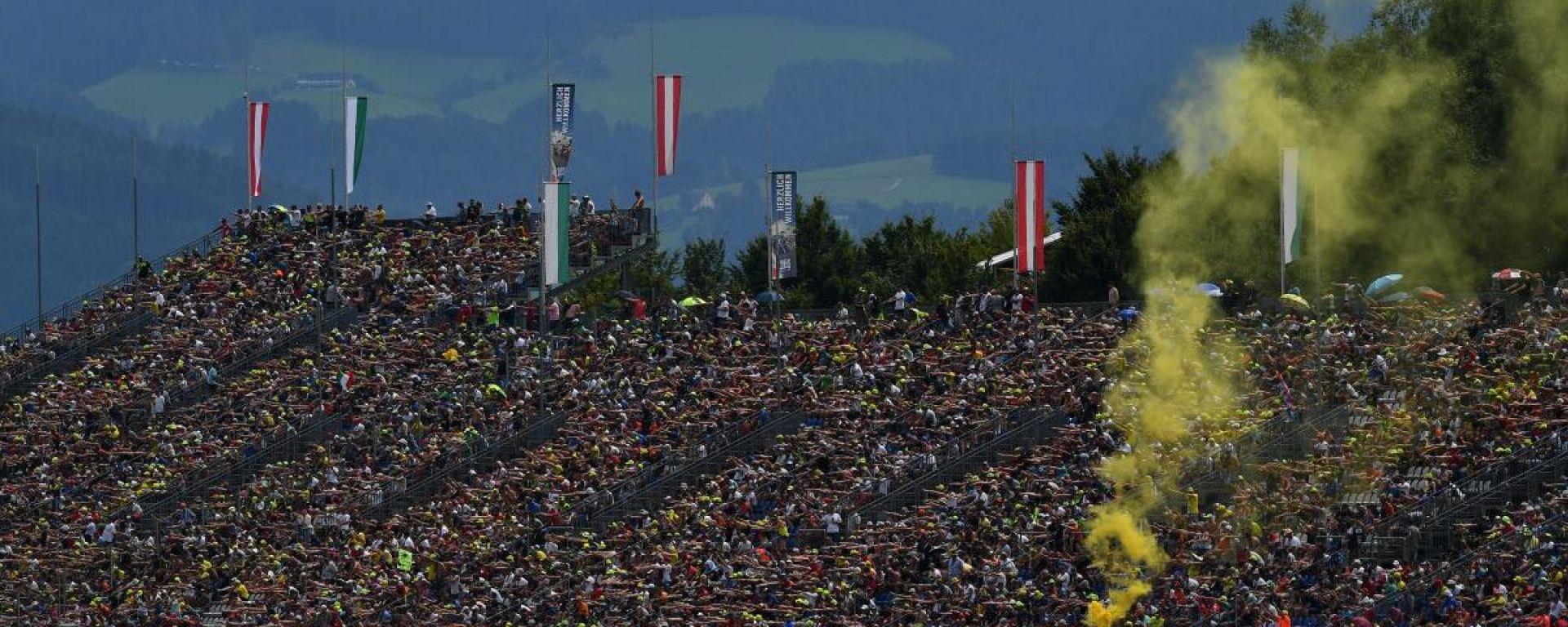MotoGP, il pubblico del Gran Premio d'Austria 2019 al Red Bull Ring