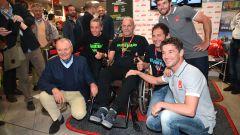MotoGP: il team LCR incontra il pubblico al GIVI point di Brescia. Lucio Cecchinello ci racconta trent'anni di Motomondiale - Immagine: 3