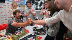 MotoGP: il team LCR incontra il pubblico al GIVI point di Brescia. Lucio Cecchinello ci racconta trent'anni di Motomondiale - Immagine: 7