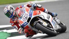 MotoGP Inghilterra 2017, Andrea Dovizioso in sella alla Desmosedici GP17
