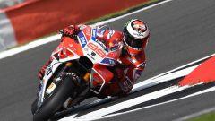 MotoGP Inghilterra 2017, Jorge Lorenzo in azione