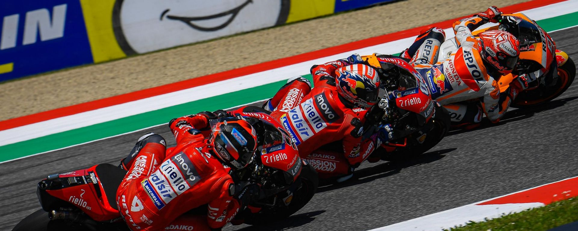 MotoGP Italia 2019, le pagelle del Mugello